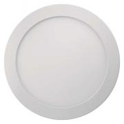 LED panel 224mm, kruhový přisazený bílý, 18W teplá bílá