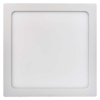 LED panel 300×300, čtvercový přisazený bílý, 24W teplá bílá