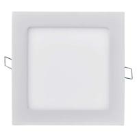 LED panel 170×170, čtvercový vestavný bílý, 12W teplá bílá