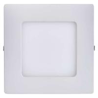 LED panel 120×120, čtvercový přisazený bílý, 6W neutr. bílá