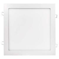 LED panel 300x300, čtvercový vestavný bílý, 24W teplá bílá