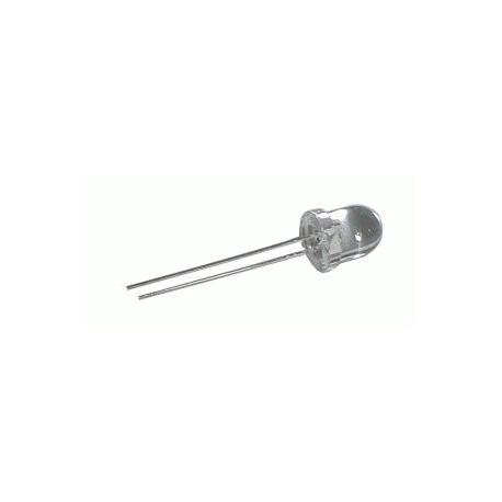 LED  8mm  bílá  3500mcd/20°  čirá