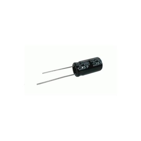 Kondenzátor elektrolytický   1G/35V 13x21  105*C  rad.C