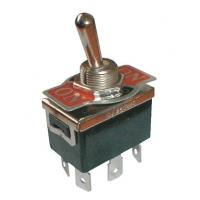 Přepínač páčkový  3pol./6pin  ON-OFF-ON 250V/10A