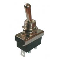 Přepínač páčkový  2pol./3pin  ON-ON  12V