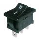 Přepínač kolébkový     2pol./3pin  ON-ON  250V/6A černý
