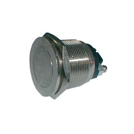Přepínač tlačítko kul. OFF-(ON) kov-typ2 (12V)