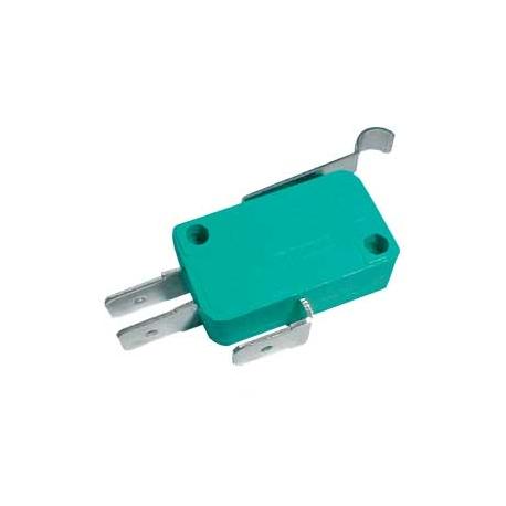 Mikrospínač ON-(ON) 10A s páčkou+z. L,23