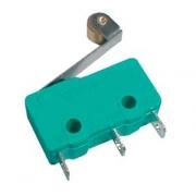 Mikrospínač ON-(ON)  5A s páčkou+v. L,17