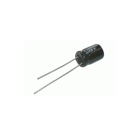 Kondenzátor elektrolytický KE 100/63/10x13t  10x13mm-3.5 105*C  rad.C