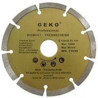 Diamantový řezný kotouč segmentový, 125x22mm GEKO