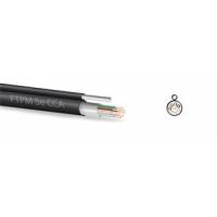 Zircon kabel FTP 5e CCAPE 305m černý, závěsný - venkovní