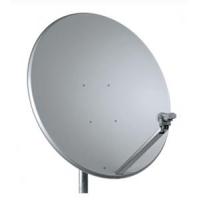 TS parabola offset 100 Al Media line bílá