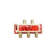 FTE TV/SAT slučovač s rozbočovačem PAU3S , 5-2400 MHz