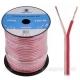 Kabel dvoulinka repro/napájecí 2 x 0,75 transparentní