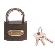 Zámek visací, 50mm, 3 klíče, GEKO