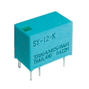 Relé  5V 0.5A/125VAC  1x přep.  SY-5-K