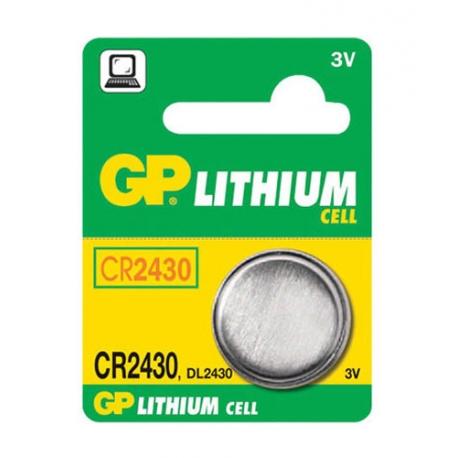 Baterie    CR2430 GP lithiová
