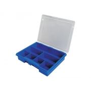 Organizér,  7 přihrádek (178x145x36mm) plastový
