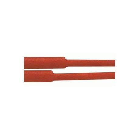 Bužírka smršťovací -  50.0 / 25.0mm červená