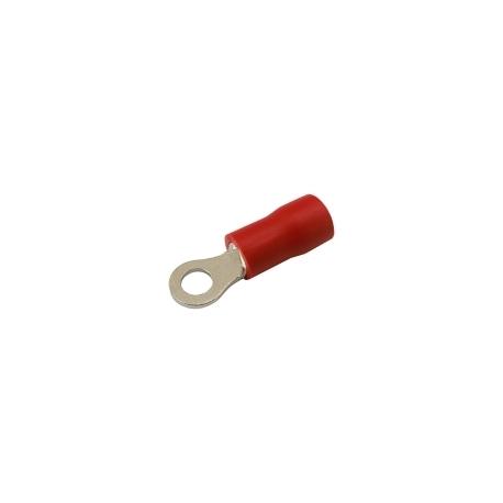 Očko  3.2mm, vodič 0.5-1.5mm  červené