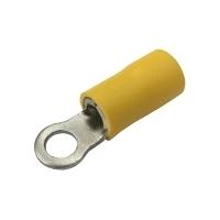 Očko  4.3mm, vodič 4.0-6.0mm  žluté