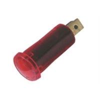 Kontrolka kulatá 12V DC červená TIPA