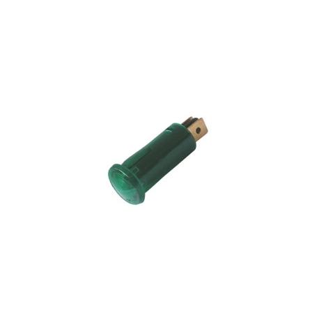 Kontrolka kulatá 12V DC zelená