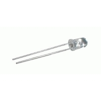 LED  5mm  bílá 22000 - 24000mcd/15°  čirá