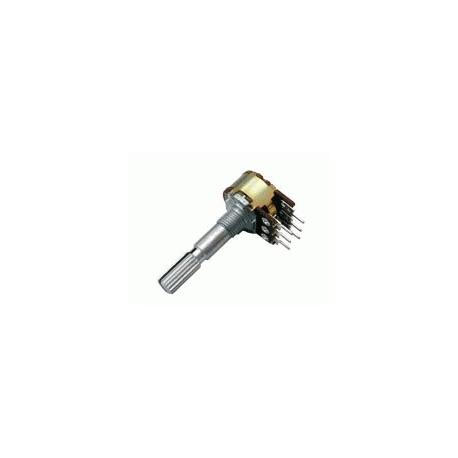 Potenciometr   5K/N  stereo  6/30mm