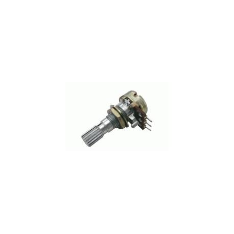 Potenciometr  25K/N  mono  6/20mm