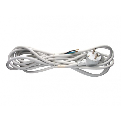 Flexo šňůra PVC 3x0,75mm 5m bílá