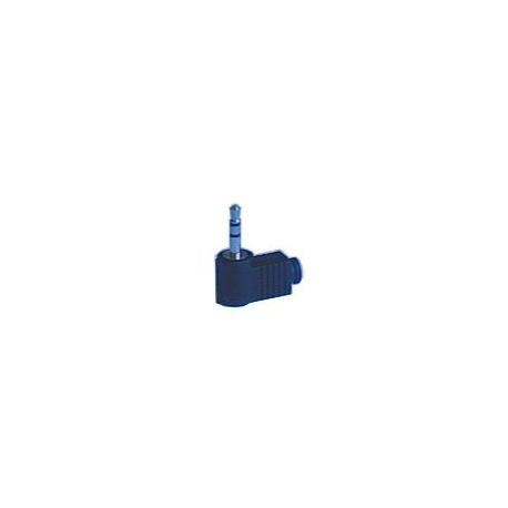 Konektor Jack 3.5  stereo úhlový plast