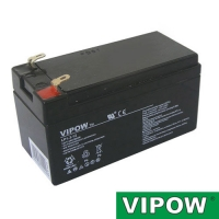 Baterie olověná 12V   1.3Ah VIPOW