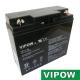 Baterie olověná  12V/17Ah  VIPOW bezúdržbový akumulátor
