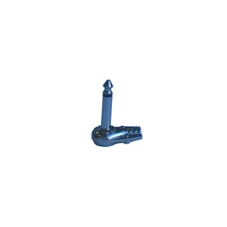 Konektor Jack 6.3 mono úhlový kov