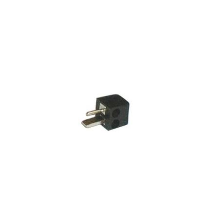 Konektor repro šroubovací úhlový černý