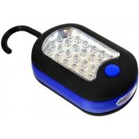Montážní lampa 24 + 3 LED, háček GEKO