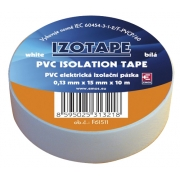 Izolační páska PVC 15/10m  bílá