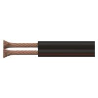 Dvojlinka nestíněná 2x0,75mm černo/rudá, 100m