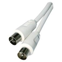 Anténní koaxiální kabel stíněný 1,25m - rovné vidlice