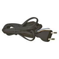 Flexo šňůra PVC 2× 0,75mm2, 5m, černá
