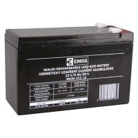 Bezúdržbový olověný akumulátor 12 V/9 Ah, faston 6,3 mm