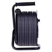 Gumový prodl. kabel na bubnu - 4 zásuvky 50m 2,5mm