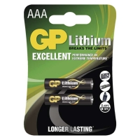 Lithiová baterie GP FR03 (AAA)