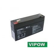 Baterie olověná   6V/ 1,3Ah  VIPOW bezúdržbový akumulátor