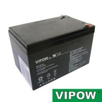 Baterie olověná 12V  14Ah  VIPOW