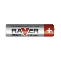Baterie lithiová AAA R03 1,5V RAVER