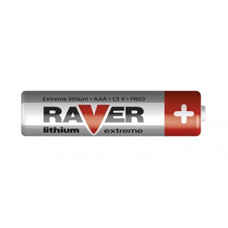 Baterie AAA (R03) lithiová  RAVER