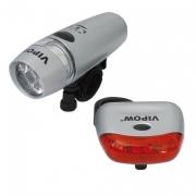 Svítilna na kolo LED - set  (L65)